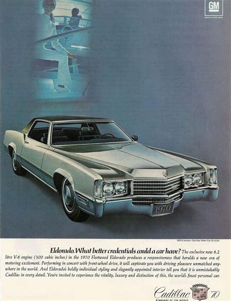 Luxury Car Advertising  Retro Ad Of The Week Cadillac, 1970