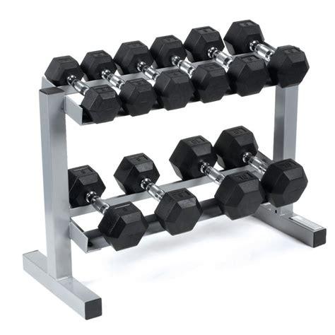 dumbbell rack set power rubber hex dumbbells rack 3 4 6 8 10kg