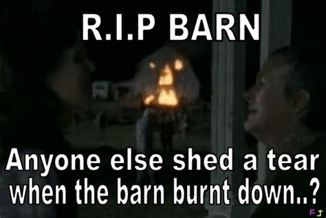Walking Dead The Burning Barn