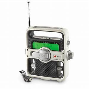 Eton U00ae Solarlink Fr500 Red Cross Crank Dynamo Weather Radio