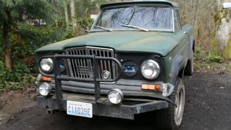 jeep gladiator 1966 1966 jeep gladiator 350 youtube