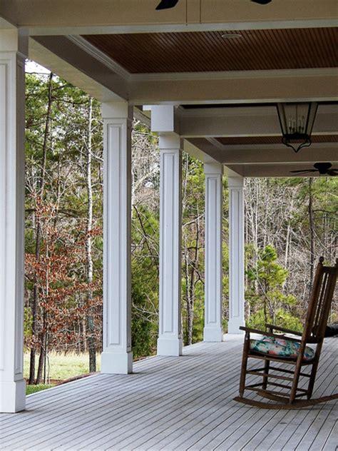 Decorative Front Porch Columns - craftsman tapered columns square taper front porch column