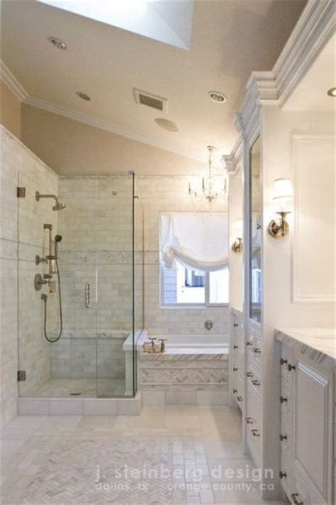 white thassos and cararra marble bathroom j steinberg
