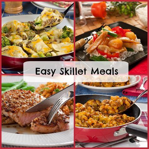 easy one skillet meals 38 easy skillet meals mrfood com