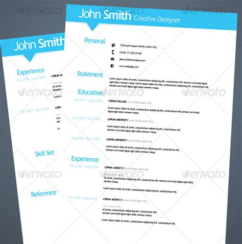 Cheap Resume Templates 28 creative cheap resume templates