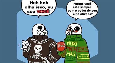 especial de natal comic as festa dos universos alternativos undertale brasil amino
