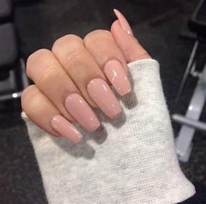 nail polish, pink nail polish light, acrylic nails ...