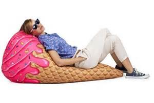 cone bean bag chair foodiggity