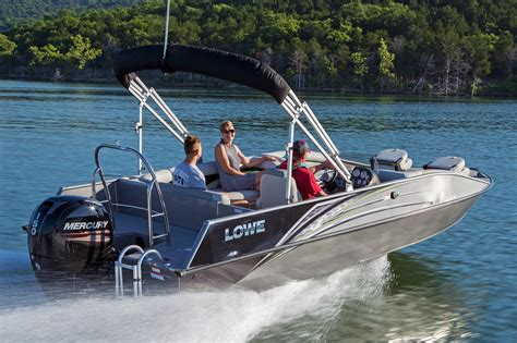 Deck Boat For Sale In Wisconsin by 2017 New Lowe Deck Boat For Sale Cadott Wi Moreboats