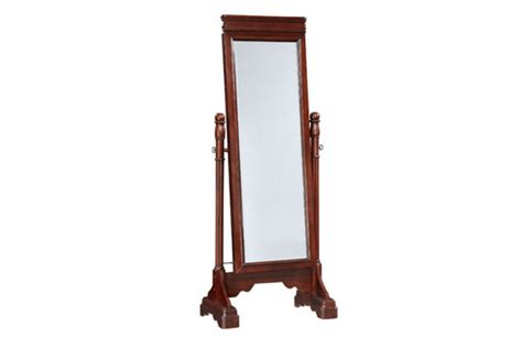 Cheval Mirror Jewelry Armoire by Louis Marquis Cherry Cheval Mirror Jewelry Armoire At