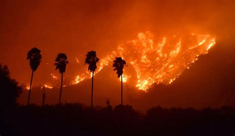 southern california fires force thousands  flee