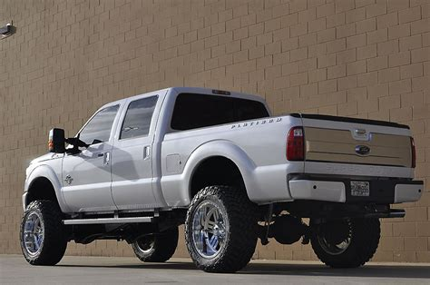 ford   platinum diesel lifted   sale