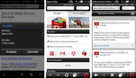 El corazón y el alma de opera mini es la velocidad. Opera Mini para Nokia sigue actualizándose http://shar.es ...