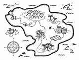 Treasure Coloring Map Pirate Maps Printable Drawing Museprintables Fantasy Island Pdf Paper Craft Getdrawings Printables sketch template