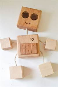 DIY Wooden Robot Buddy: Easy Project for Kids