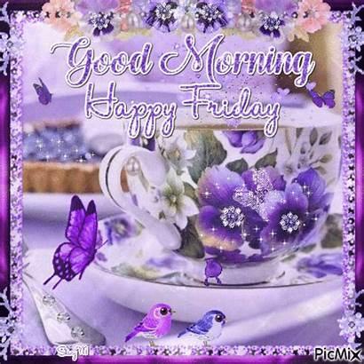 Friday Morning Happy Gifs Animated Glittery Saturday