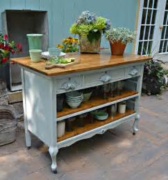 vintage kitchen islands 15 funky kitchen islands that will make you jump on the repurposing trend