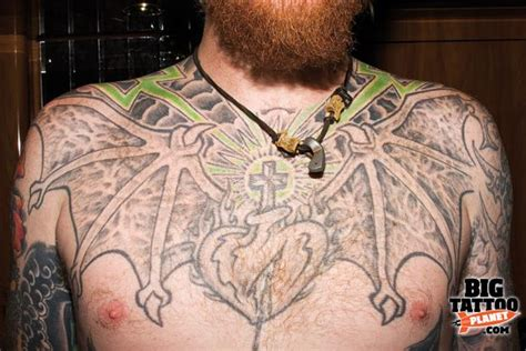 Permalink to Heart Chest Tattoo Images