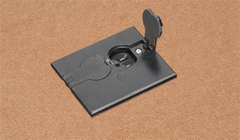Carlon Poke Thru Floor Box by Electrical Floor Boxes Poke Thru S J H Larson Company