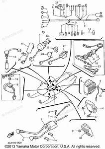 Yamaha Snowmobile 1995 Oem Parts Diagram For Electrical