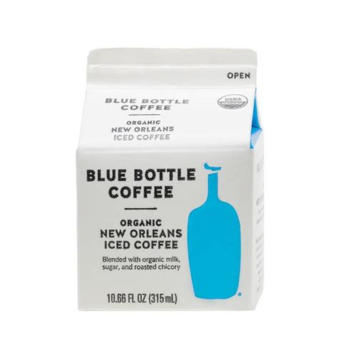 Pearlfisher created a package that has the nostalgic look of a dairy carton, a new look for the brand that stays true to the heart of blue bottle founder. Blue Bottle Coffee Co. New Orleans Iced Coffee (10.66 fl oz) - Instacart