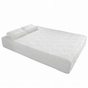 10quot cool medium firm memory foam mattress full size 2 free With best medium firm pillow