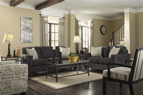 Grey Couch Living Room Decorating Ideas Homestylediarycom