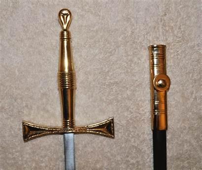 Sword Templar Knights Standard Swords Double Preceptors
