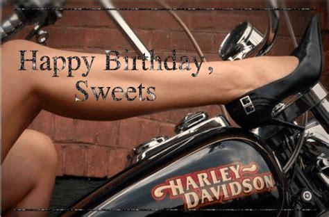 Happy Birthday Sweets Harley Davidson