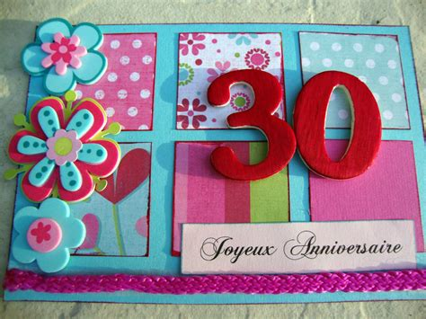 Carte Invitation 30 Ans Femme