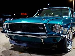 1968 Ford Mustang Fastback 331 Stroker Engine Pacific Green Metallic - Ford Daily Trucks