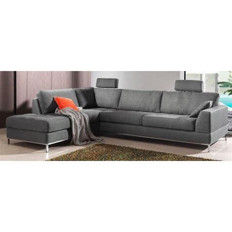 canapé tissus canapé d 39 angle moelleux et confortable en tissu de grande