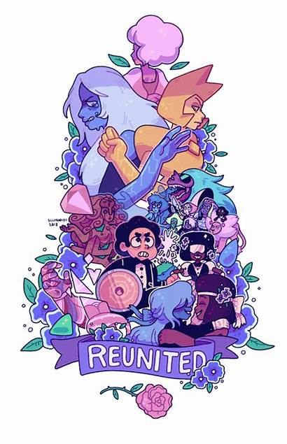 Steven Universe Diamond Reunited Lion Enemies Garnet