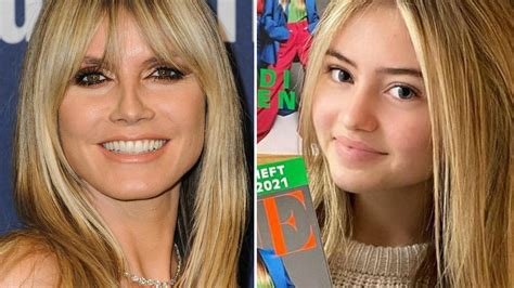 Though fans have learned quite a bit about heidi klum's kids, there's always more to uncover. Leni Klum: SO ähnlich sieht sie ihrer Mutter Heidi Klum ...