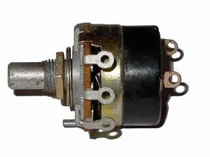 Linear Taper Potentiometer With Switch