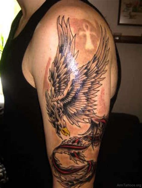 flying phoenix tattoos designs  meanings