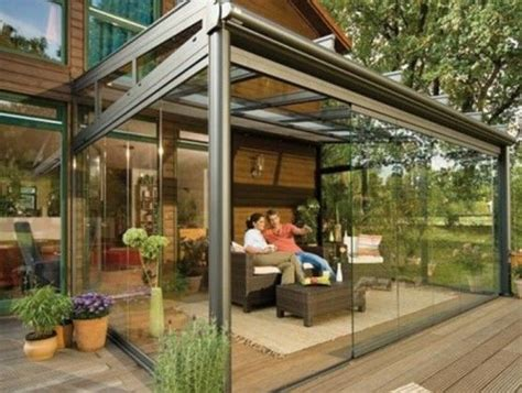 glass enclosed patio outdoor spaces