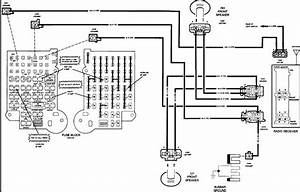 I Need The Stereo Wiring Diagram For A 1992 Chevy G20