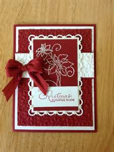 Stampin Up Handmade Christmas Card Ideas