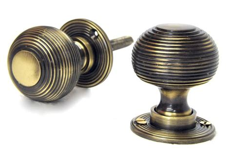 antique brass door knobs antique brass reeded door knobs brass door knobs door