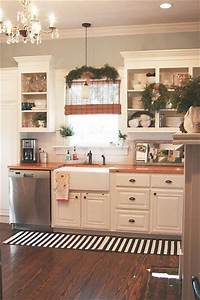 25 best ideas about country kitchen decorating on With kitchen colors with white cabinets with candle holders images