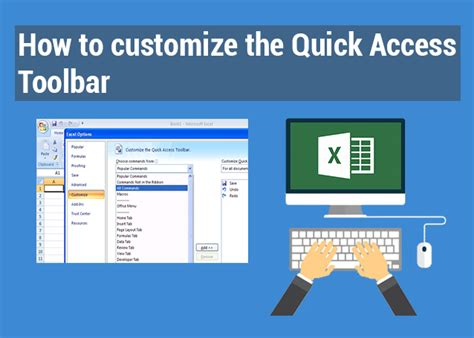How To Customize The Quick Access Toolbar Exceldemy