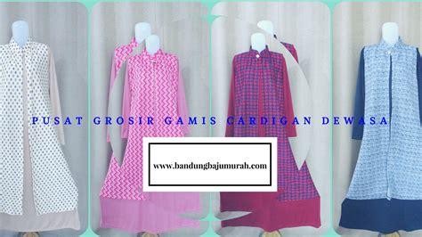 Grosir Gamis Cardigan Bahan Spandek Rp 62,000