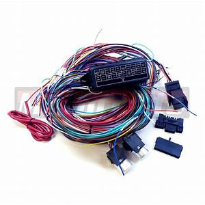 Universal Chevy Gmc 20 Circuit Wire Harness Kit Street Hot