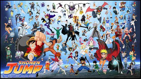 anime shounen shonen jump crossover by uyhe on deviantart