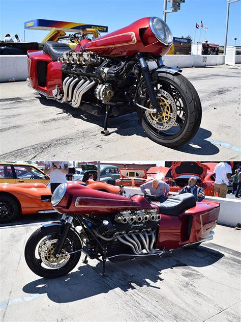 lamborghini motorcycle auto enthusiast builds custom lamborghini espada v12