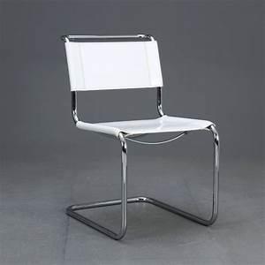 Thonet Freischwinger Leder : thonet s33 freischwinger bauhaus klassiker stuhl leder ~ Watch28wear.com Haus und Dekorationen