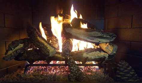 vented gas logs scotts fireplace products