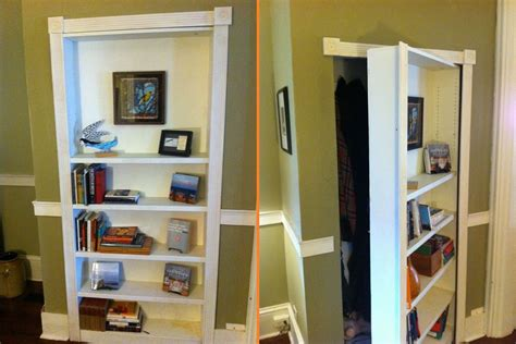 diy bookcase secret door home design garden