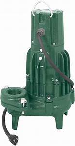 Zoeller Automatic And Manual Submersible Sewage Sump Pumps